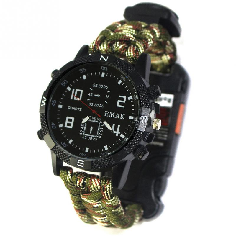 aeProduct.getSubject()  EDC Tactical multi Outside Tenting survival bracelet watch compass Rescue Rope paracord gear Instruments package HTB1VaaqFH9YBuNjy0Fgxh7xcXXaE