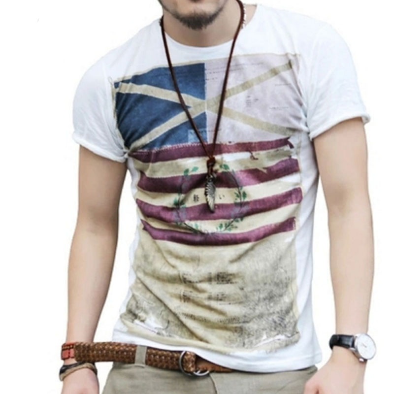 T shirt men 2017 brand short sleeve hip hop male palace t for Mens short sleeve patterned shirts
