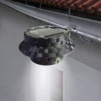2017 NEW Hot Solar Powered 3LED Outdoor Light Lamp Fence Gutter Roof Yard Wall Garden A84