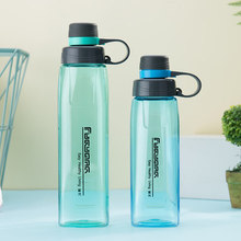 Plastic Outdoor Portable Water Cup Student Space Mugs Men and women Fitness Bottle Sports Pot Large Capacity 800ml