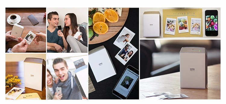 Fujifilm Instax Smartphone Printer SP-2 Silver/Gold 28