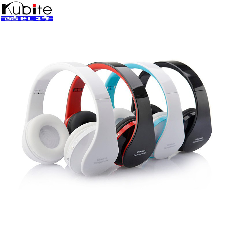 Kubite 8252 Bluetooth Headset Wireless Foldable Headphones Handsfree Earphone with Mic for iPhone Samsung Xiaomi Mobile Phones remax t9 mini wireless bluetooth 4 1 earphone handsfree headset for iphone 7 samsung mobile phone driving car answer calls
