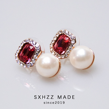 SXHZZ Natural Freshwater Pearl 925 Silver Stud Earrings Fine Jewelry 10MM White Round Pearl Handmade Jewelry Accessory for Women nymph seawater pearl bracelets fine jewelry near round natural pearl bangles for women gold trendy anniversary gift [s308]