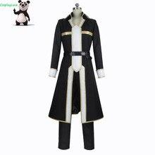 Cosplaylove espada arte em linha alicização kirigaya kazuto cosplay traje feito sob encomenda para o natal dia das bruxas