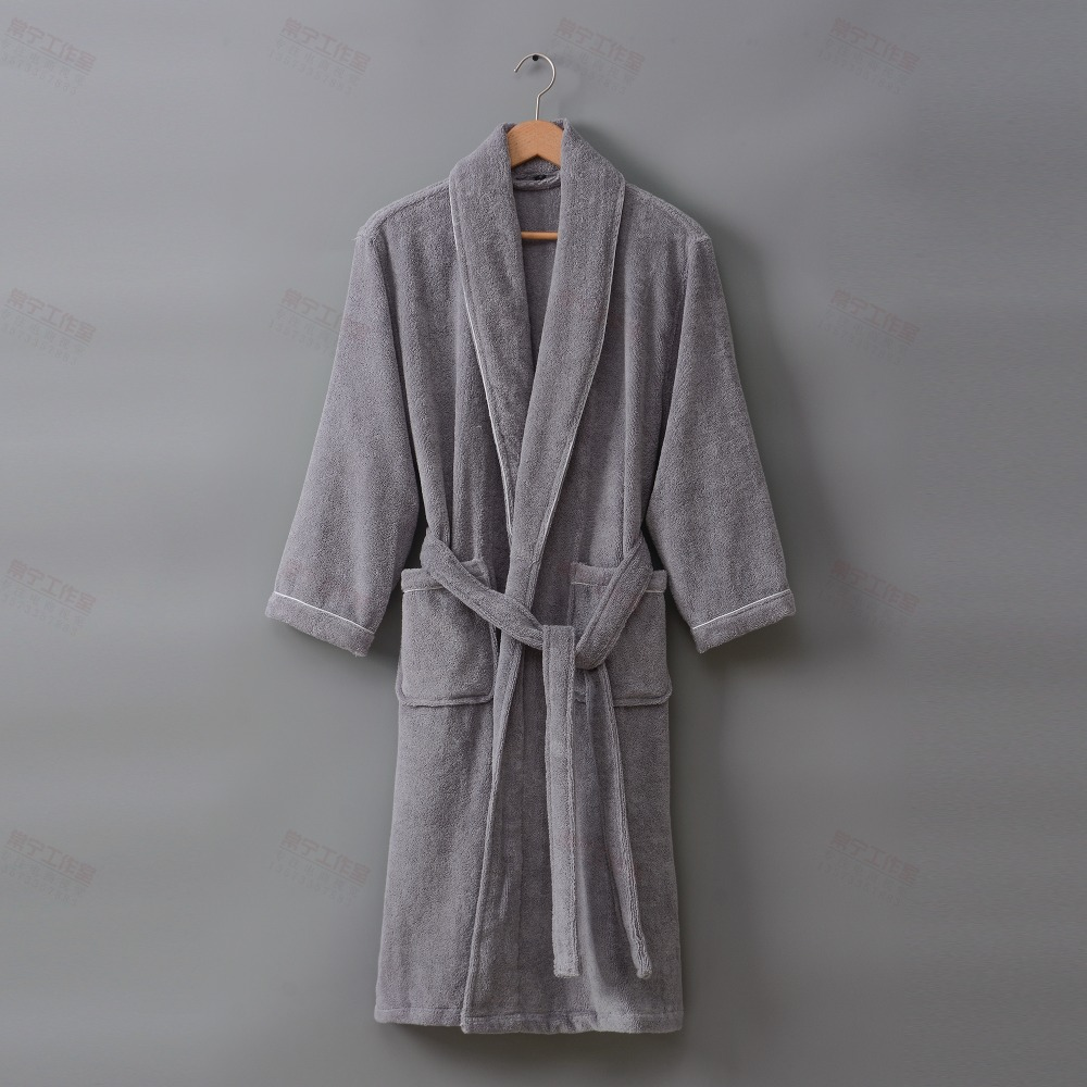 Women Bathrobe Men Thick Warm Long Towel Bathrobe Plus Size Kimono Bath Robe Winter Peignoir Dressing Gown Bridesmaid Robes