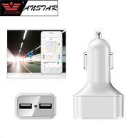 ANSTAR Smart car Charger GPS tracker Listen remotely GPS+AGPS+WIFI+LBS car tracking device with online tracking system software