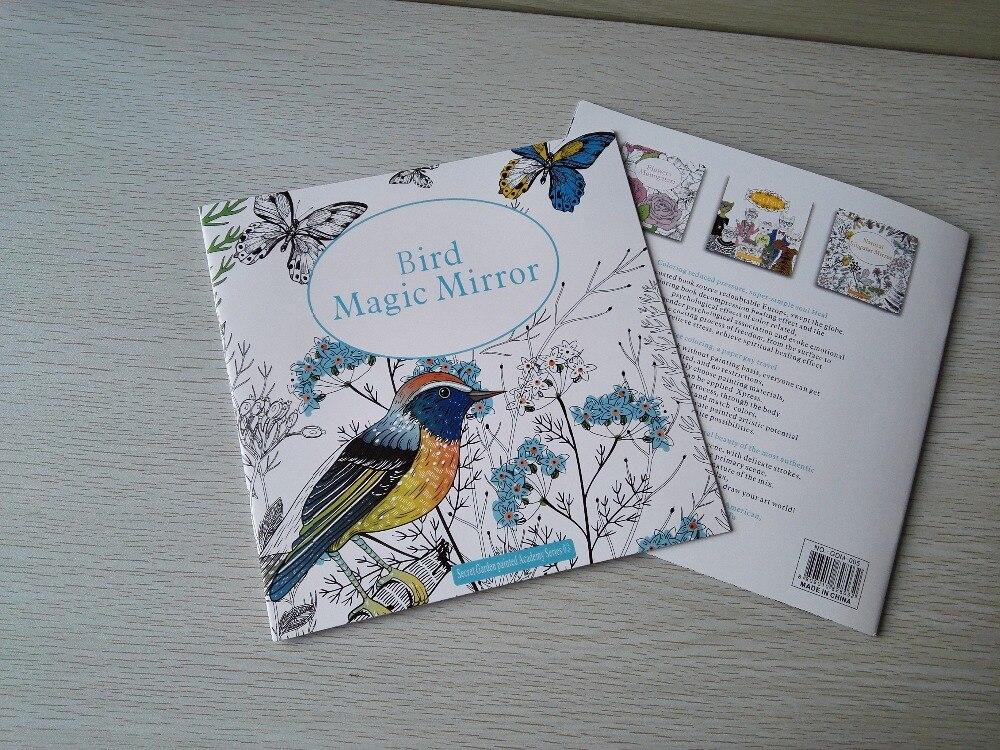 english garden birds promotion shop for promotional english garden birds on aliexpress com Radio Coloring Book  Bird Magic Mirror Coloring Book