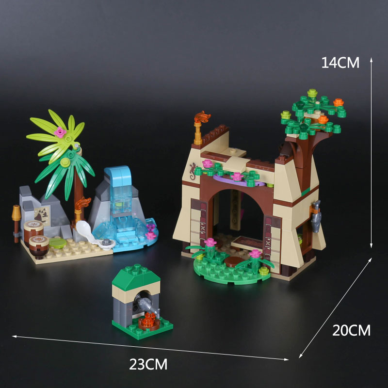 Lepin 25004 New Toys 221Pcs Girl Series The 41149 Island Adventure Set Building Blocks Bricks Educational Funny Kids Toys Gifts