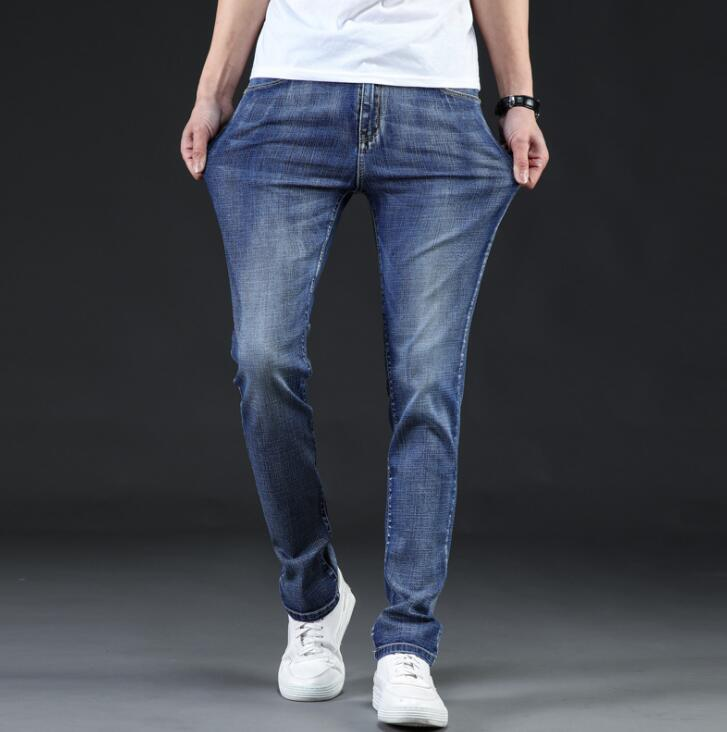 New Arrival Stylish Popular Casual   Jeans   For Men On Sale Discount Spring Full Length Pants
