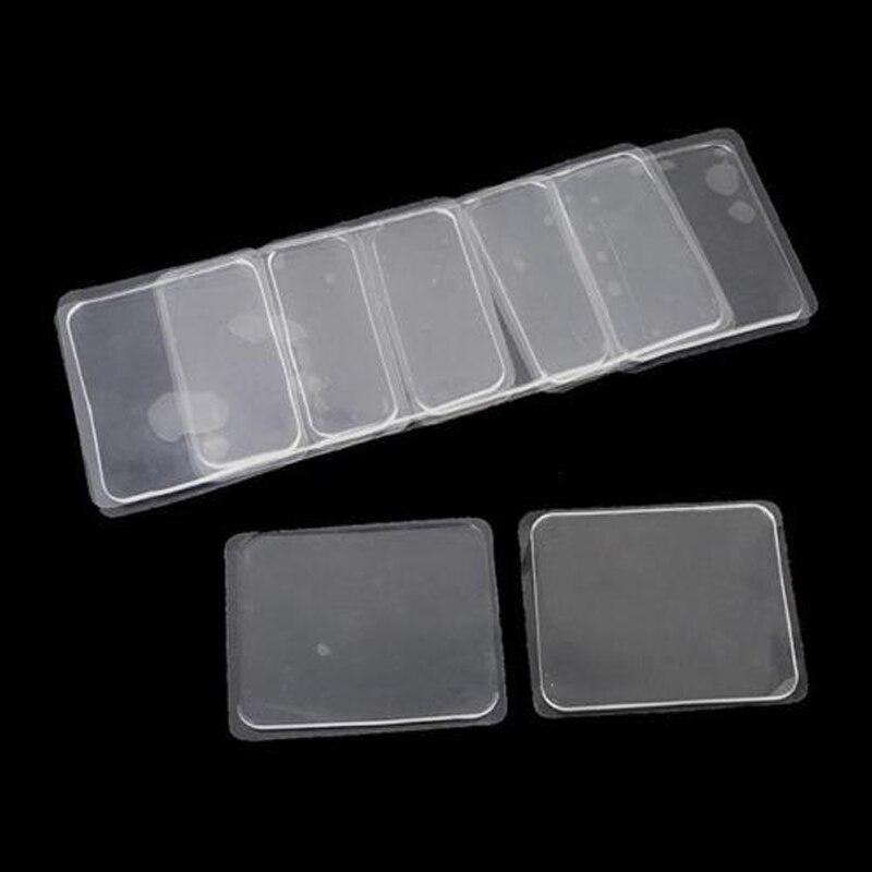 10 Almofada de Gel de silicone Multifuncional Anti Slip Crianças Tapete Quarto Capacho Tapete de Banho Fácil Sitcky Adesivo Reutilizável Tapete Para Banheiro