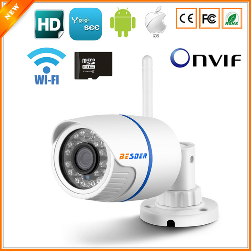 Techege 720P WIFI IP Camera Audio 1080P HD Network 1.0MP Wireless ...