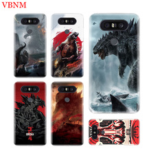 Godzilla Gojira Durable Soft Fit Phone Case For LG V40 G6 G7 Q6 Q8 Q7 G5 G4 V30 V20 V10 K8 K10 2018 2017 Customized Cases Coque цена
