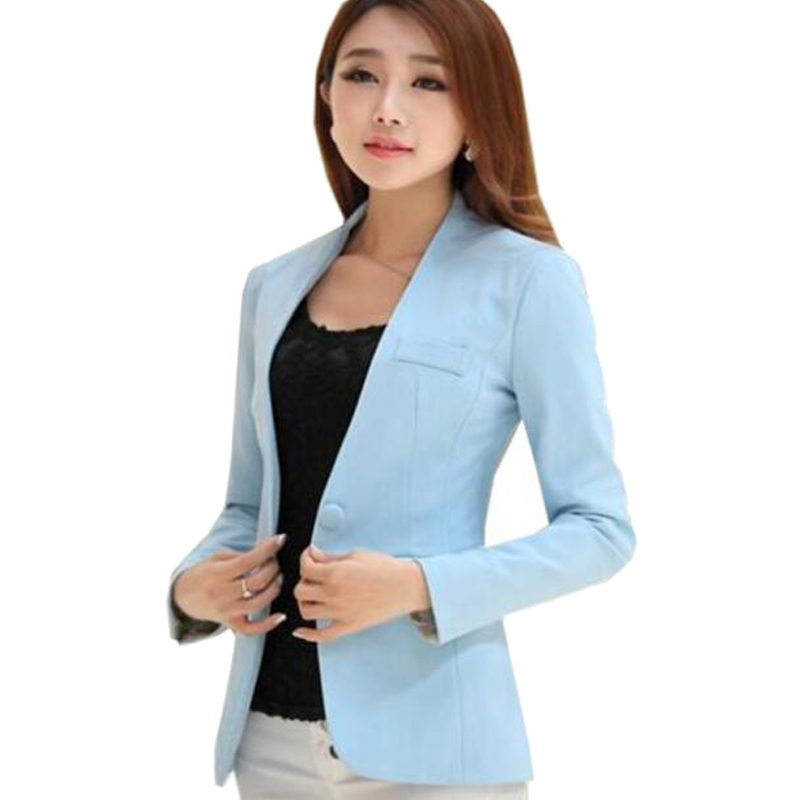 Zapatos 2018 mejores marcas mejor valor US $21.39 49% OFF|Ladies Suit Blazers Women White Plus Size Blazers For  Women Jacket Slim For Work Women Blazers And Jackets 2016 Blazer Mujer-in  ...