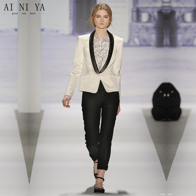 Ivory Wedding Pant Suits Women