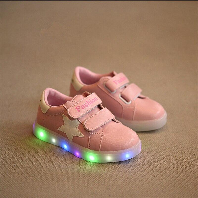 designer fashion 285dd e74fc JIAN DIAN Kinder Licht Up Schuhe Mode kinder Leuchtenden ...