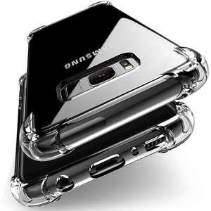 ca37f9daf1578b Shockproof Clear Soft Silicone Armor Case for Samsung Galaxy A8 Plus A5 A7  J2 Pro
