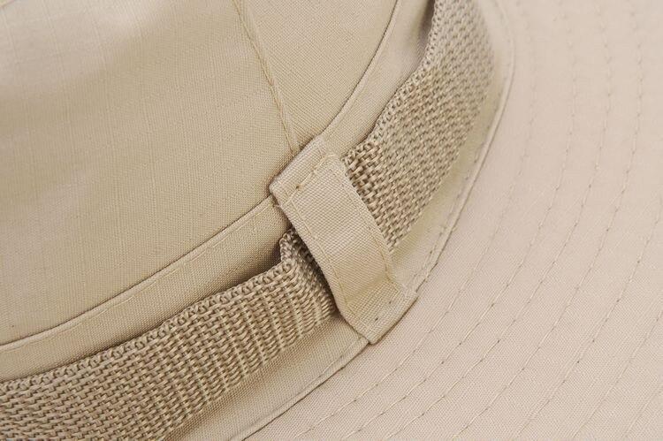100pcs/pack Classic US Army Gi Style Boonie Jungle Hat Ripstop Cotton Combat Bush Sun Cap - 4