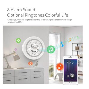 Image 5 - NEO Coolcam Wireless WiFi Siren Alarm Sensor for Home Smart Device Compatiable With Echo Google Assistant IFTTT