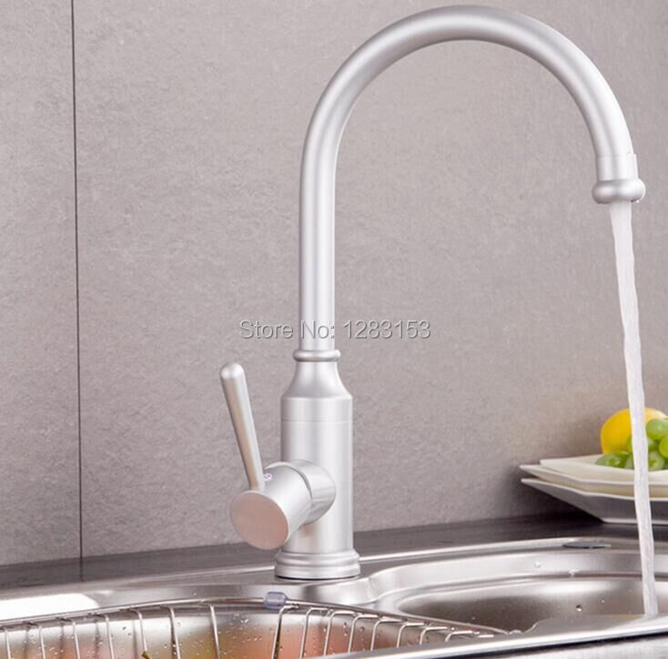space aluminum discount kitchen faucets sink faucet mix water tap basin bathroom faucets kitchen taps