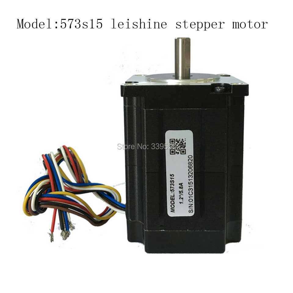 leishine stepper Motor 573s15 3phase 1.5nm for y axis for co2 laser cutting machine laser cutting machine 57 stepper motor with copper gear