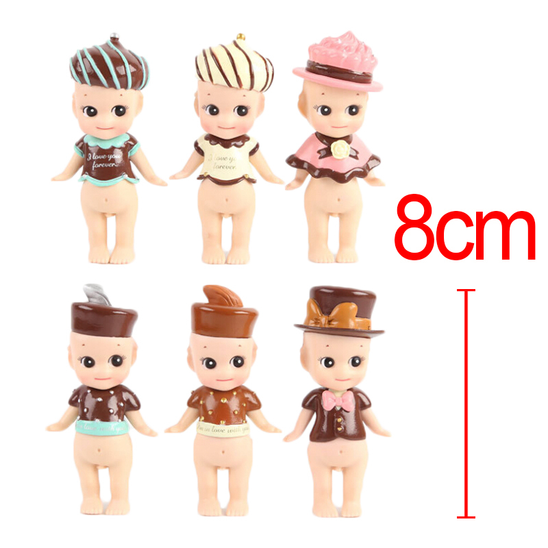 <font><b>6</b></font> <font><b>pcs</b></font>/<font><b>set</b></font> <font><b>Kewpie</b></font> <font><b>Doll</b></font> <font><b>Sonny</b></font> <font><b>Angel</b></font> <font><b>High</b></font> Quality <font><b>Doll</b></font> <font><b>Set</b></font> Toy <font><b>Sonny</b></font> <font><b>Angel</b></font> Valentine's Day Chocolate Series PVC Figure <font><b>Doll</b></font> Toys