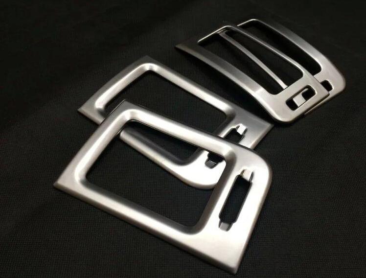 6*Matt ABS Front Air Vent Frame Cover Trim For Nissan Xtrail  X-trail 2008-2013