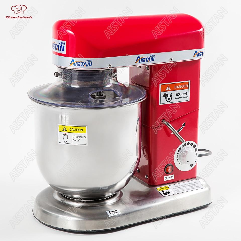 Électrique commercial cuisine mixeur planétaire mélangeur mélangeur egg beater lait shaker pain spirale pâte mélangeur machine