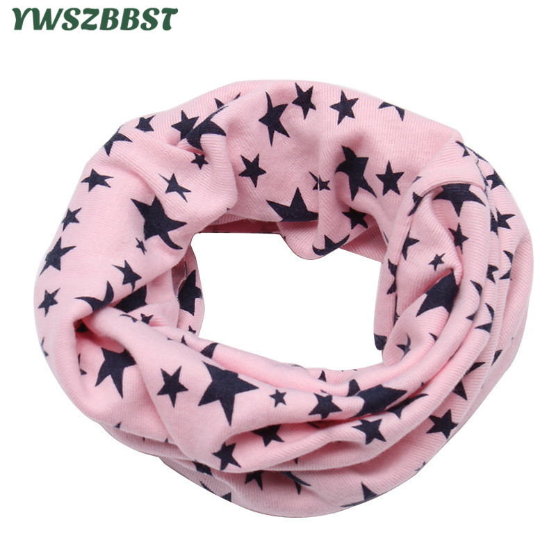 Cotton Baby Scarf Baby Bibs Autumn Winter Boys Girls Scarf O Ring Neck Collar Children Scarves Kids Neckerchief