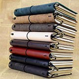 Emoshire Travel Ben Leather Vintage Travel Diary Tied-Rope Leather Notepad Travel Traveler Diary Notebook (2)