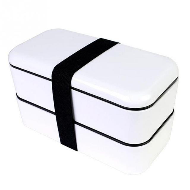 Professional Double Layer Lunch Box Bento Leakproof School Picnic