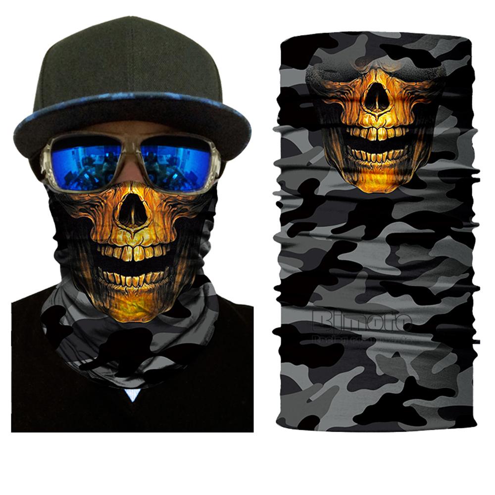 Multifunctional Motorcycle Face Shield Bandana Skull Scarf UPF High Quality Tube Skull Face Mask Shield Seamless Bandanas (13)