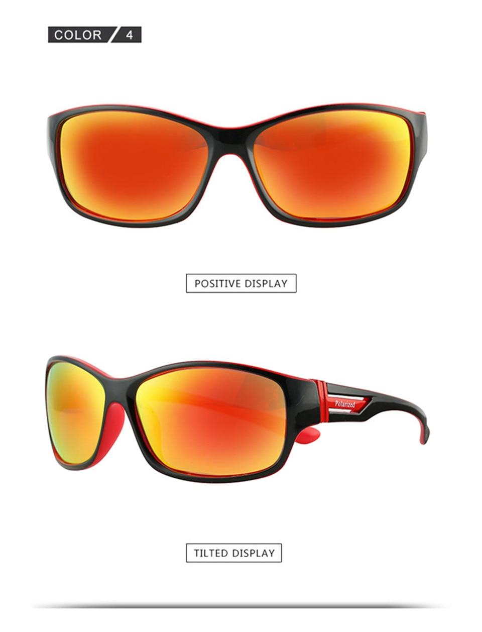 RILIXES 2018 Fashion Guy\'s Sun Glasses From Kdeam Polarized Sunglasses Men Classic Design All-Fit Mirror Sunglass (10)