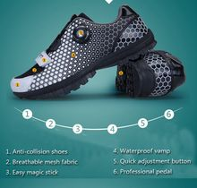 Cycling Shoes EU Size 33-44 Black Outdoor Mountain Self-Locking MTB Bike Shoes Chaussure Athletic Ciclismo Zapatos Bicycle Shoes