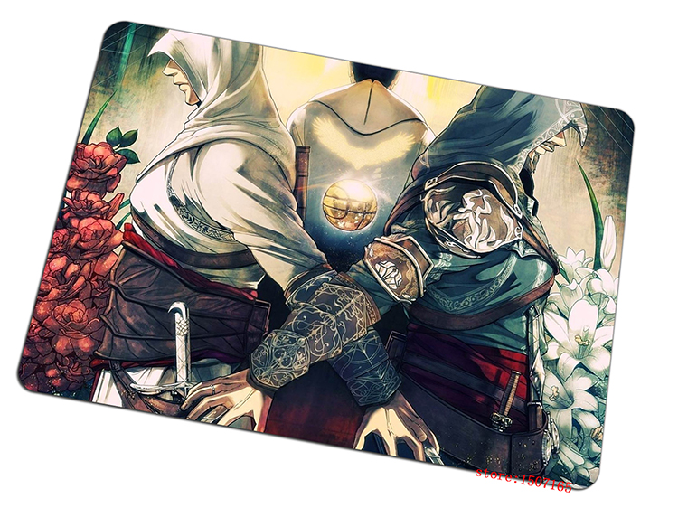 Assassins Creed mouse pad Imported rubber pad to mouse game computer mousepad gaming padmouse gamer to laptop keyboard mouse mat