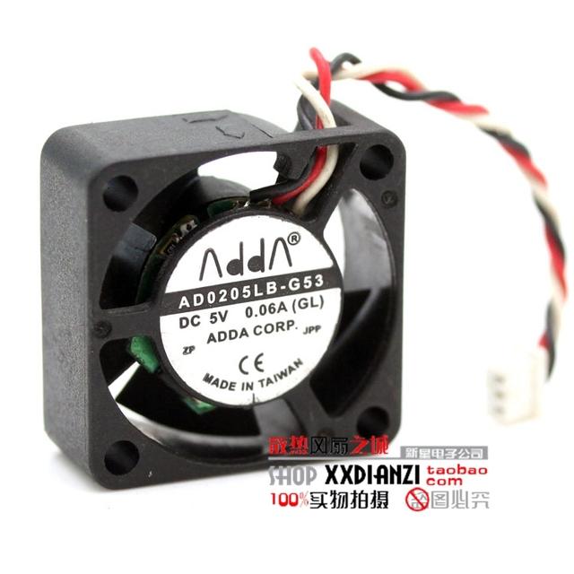 AD0205LB-G53 2510 0.06A 5 V ultra silencioso de tres líneas ventilador del proyector