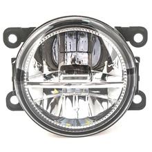 2 шт светодиодные противотуманные огни для Mitsubishi Outlander L200 Pajero Grandis Galant 2003-2015 туман сборки лампы Супер яркий фонарь