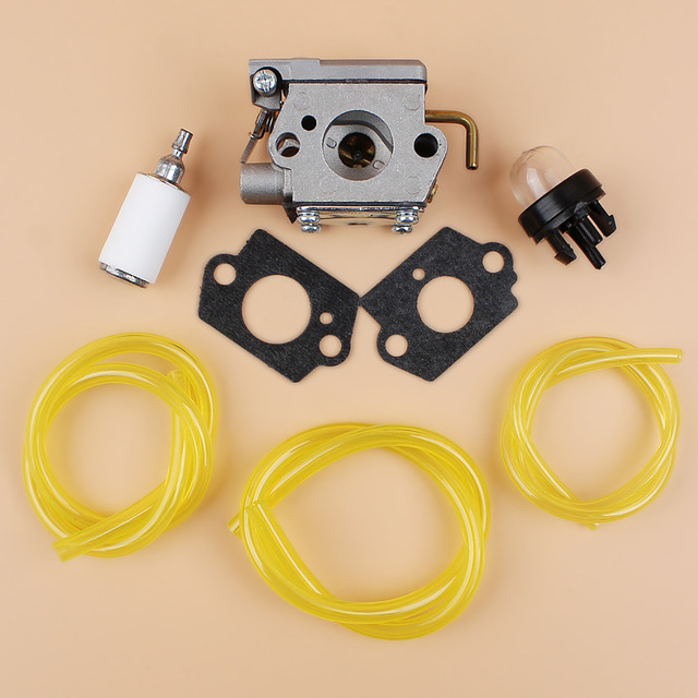Carburetor Fuel Line Primer Bulb Kit For Mtd Troy Bilt Tb10cs Tb20cs Tb20ds Tb65ss Tb70ss