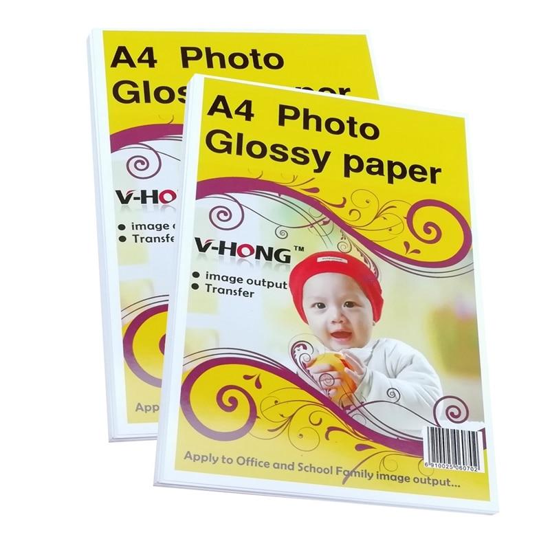 A4 չափսի inkjet տպիչ Անջրանցիկ փայլուն թղթի լուսանկարների տպում / բարձր փայլուն լուսանկարչական թուղթ