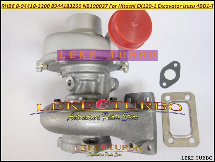 Free Ship RHB6 894418-3200 8944183200 8944163510 Turbo Turbocharger For HITACHI EX120 EX150 JCB JS130 Offway For ISUZU 4BD1-T free ship turbo rhf5 8973737771 897373 7771 turbo turbine turbocharger for isuzu d max d max h warner 4ja1t 4ja1 t 4ja1 t engine