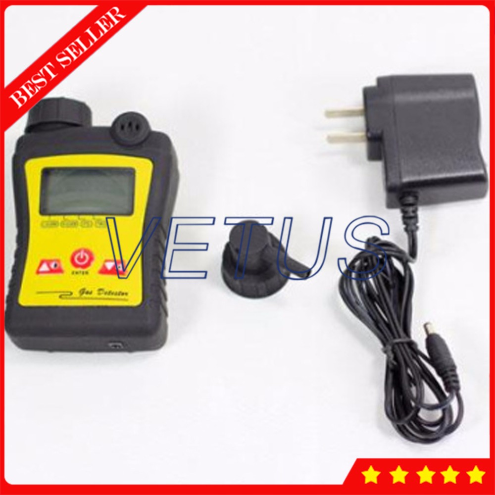 0-1000ppm Digital CO Gas Detector with Portable Carbon Monoxide Meter Tester Analyzer PGas-21-CO Realtime clock setting function