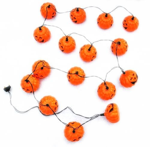 1 Piece New 2.8M 16 PCS Cushaw Pumpkin Squash Halloween Christmas Holiday Light Lamp