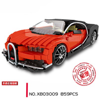 Xingbao Building Blocks 03009 Self Locking Bricks MOC Technic Series The Gallon Supercar Lepinings Toys Model Clone LP