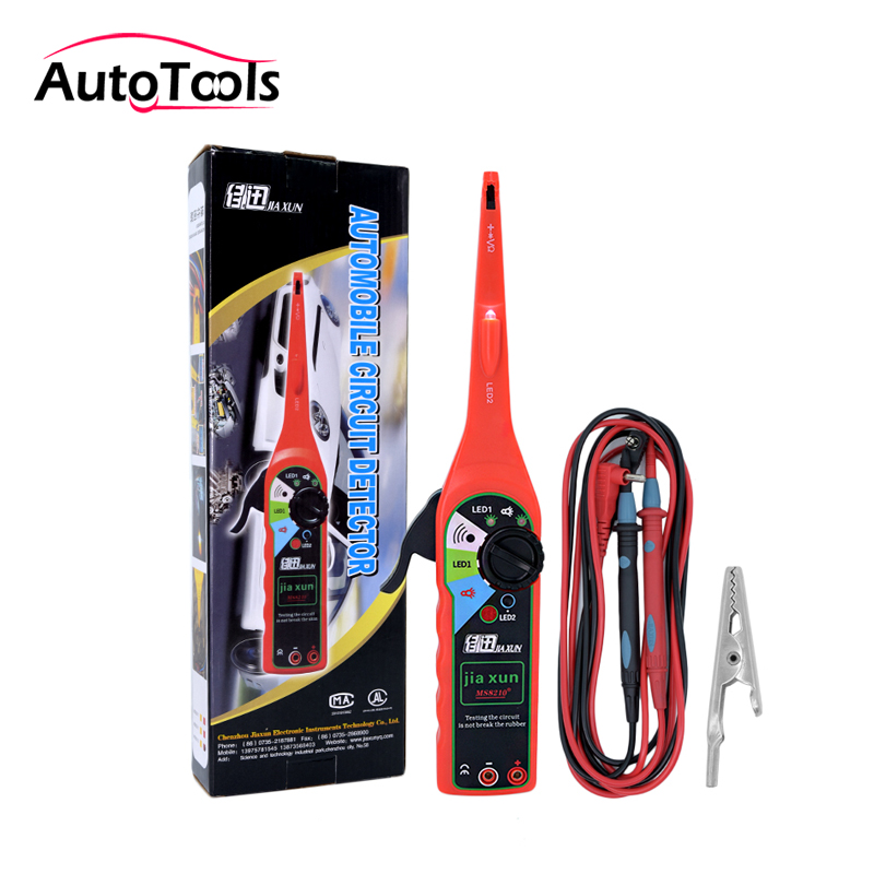 2017 New Auto car power circuit Tester car Electric testing tool Automotive Electrical Multimeter car detector red/yellow tech 2 scanner for sale