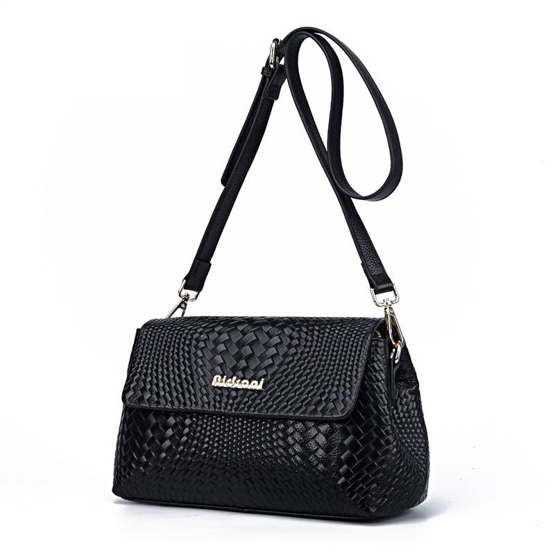 ФОТО Braided Lines Women Bag Luxury Brand Woman High Quality Leather Ladies Cross GIrl Messenger Bags bolsa feminina 35ZD