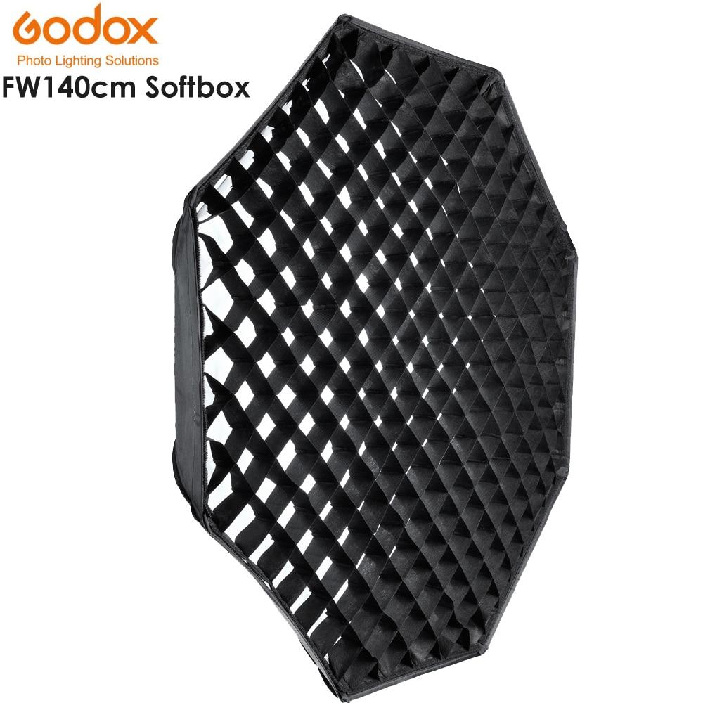 GODOX Studio Photography 140cm/55 Octagon Softbox with Grid Honeycomb Photo Soft Box Bowens Softbox with Carrying BagGODOX Studio Photography 140cm/55 Octagon Softbox with Grid Honeycomb Photo Soft Box Bowens Softbox with Carrying Bag