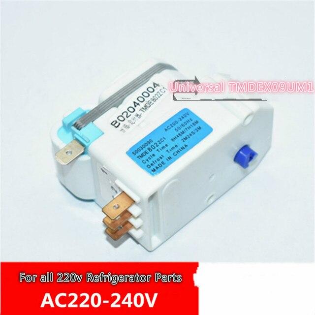 defrost timer Universal sankyo TMDEX09UM1, AC 200 240V, 3018100310 H.J Daewoo cooler For all 220v Refrigerator Parts