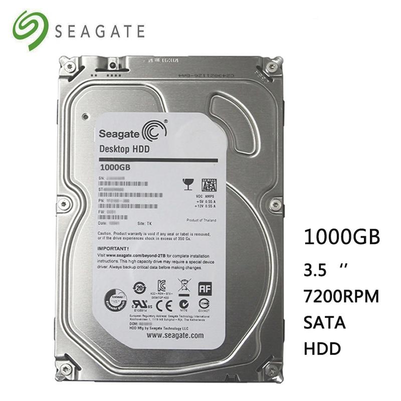 Seagate Brand 1000GB Desktop Computer 3.5