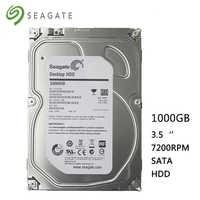 "Seagate Marke 1000 GB desktop-computer 3,5 ""interne mechanische festplatte SATA 6 Gb/s 1 TB 7200 RPM 16 MB buffer kostenloser versand"