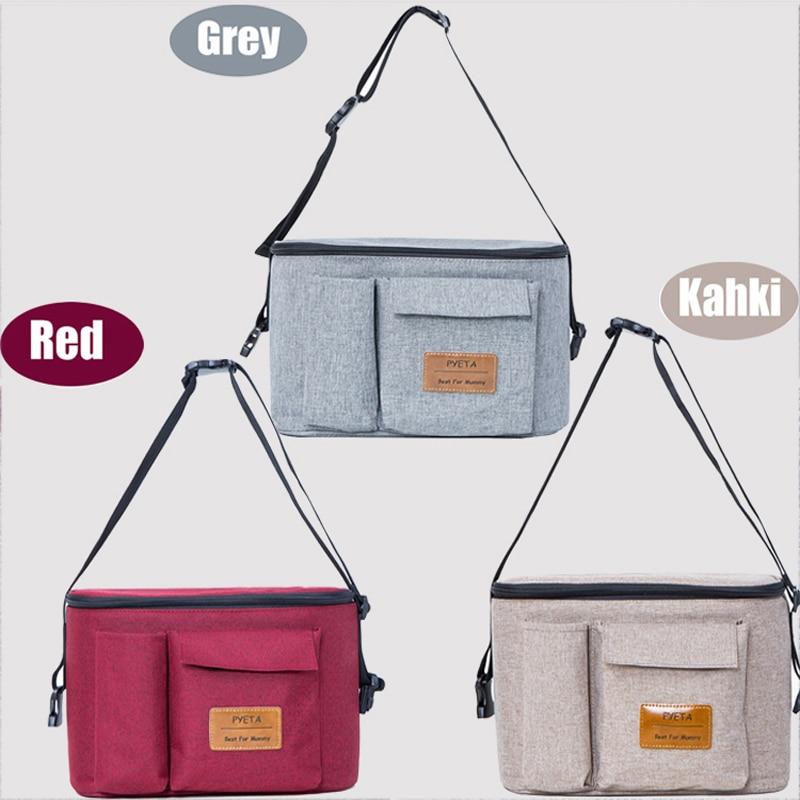 Diaper Bag For Baby Stuff Nappy Bag Stroller Organizer Baby Bag For Mom Travel Hanging Carriage Diaper Bag For Baby Stuff Nappy Bag Stroller Organizer Baby Bag For Mom Travel Hanging Carriage Pram Buggy Cart Bottle Bag