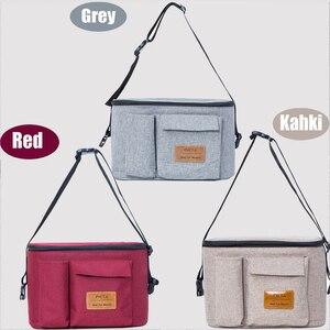 Image 3 - Diaper Bag For Baby Stuff Nappy Bag Stroller Organizer Baby Bag For Mom Travel Hanging Carriage Pram Buggy Cart Bottle Bag